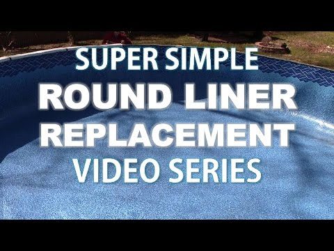 Replacing a Round Above Ground Liner Part 1