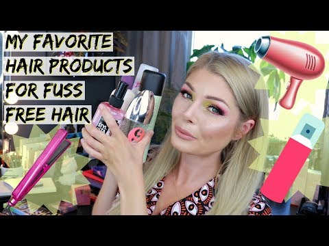 My Favorite Hair Products For Fuss-Free Hair