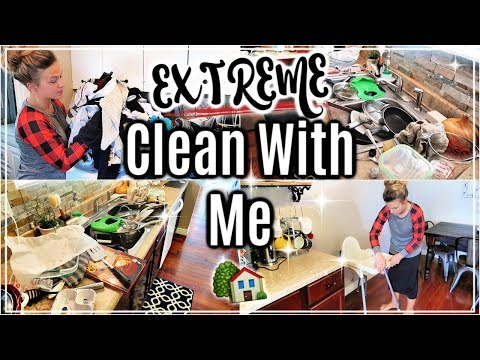 EXTREME CLEAN WITH ME 2019🏠 | WHOLE HOUSE CLEANING | ULTIMATE CLEANING MOTIVATION | SAHM
