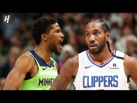 Los Angeles Clippers Vs Minnesota Timberwolves - Full Highlights | February 8 | 2019-20 NBA Season