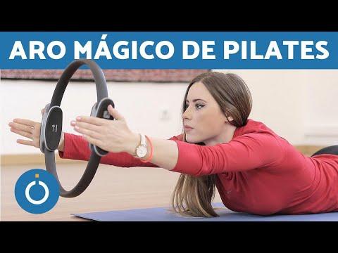 PILATES con ARO MÁGICO - PILATES EN CASA