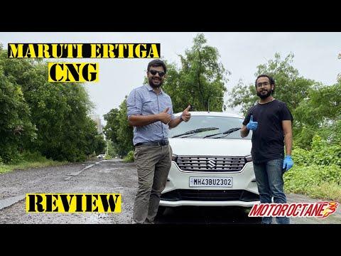 New Maruti Ertiga CNG VXi BS6 Review | Hindi | MotorOctane