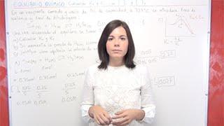 Equilibrio Químico Ejercicio 15: Calcular Kp y Kc con los moles iniciales para H2Se