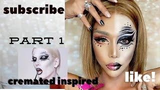 cremated inspired makeup tutorial