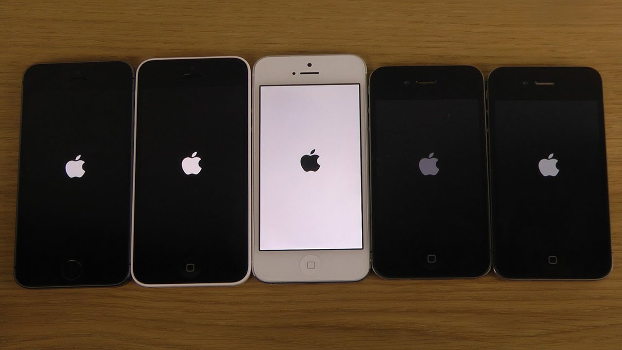 apple iphone 5s vs 5. ios 7.1 beta apple iphone 5s vs. 5c 5 4s 4 - which is faster? iphone 5s vs