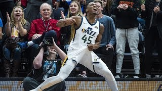 Rookie Donovan Mitchell 41 Points Career High! Anthony Davis Injury Pelicans vs Jazz 2017-18 Season