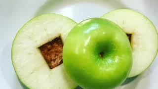 Яблочно-ореховый фитнес сендвич