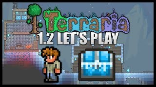 Npc Snow House Fail! Ice Chests! || Let's Play Terraria 1.2 [episode 4]
