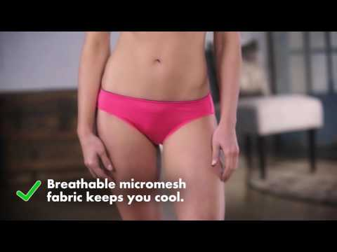 Breathable Panties: Fruit of the Loom Signature Breathable Briefs