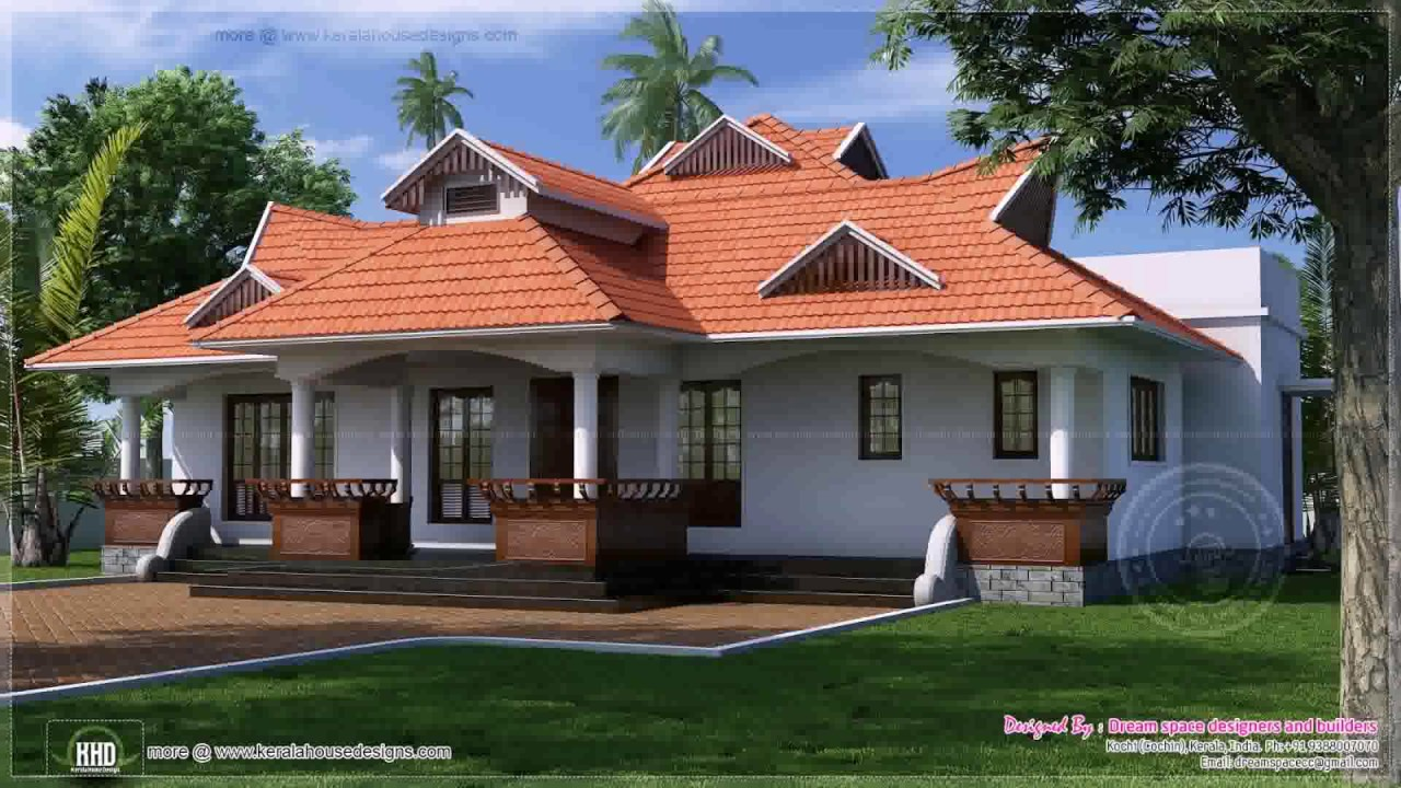 kerala style house low cost youtube
