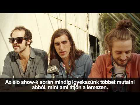Crystal Fighters Interview @ Sziget 2012