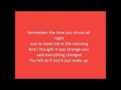 Bright Eyes - First day of my life (with Lyrics)