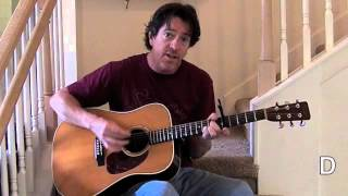 On The Steps Here Comes The Sun Guitar Lesson With Chords