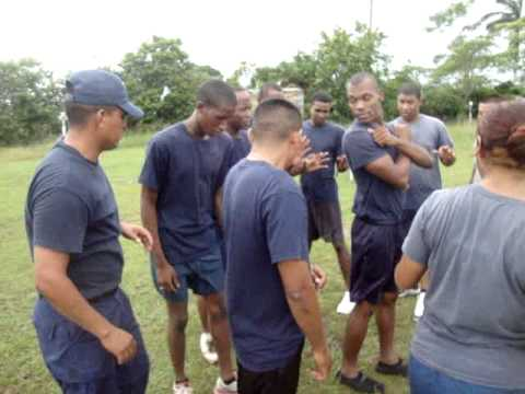 BELIZE COAST GUARD INSPECTION/TRAINING