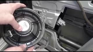 Замена штатной акустики в авто Установка динамиков в машину в Авто Ателье АврорА