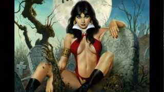 Fantasy Art - Vampirella - Joe Jusko (Motley Crue-Red Hot)