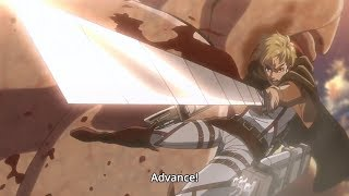 [Attack on titan season 2 ]  Commander Erwin!: Give Your Hearts!Advance!!!
