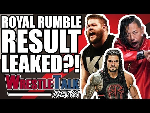 WWE Royal Rumble 2018 Result LEAKED?! | WrestleTalk News Jan. 2018