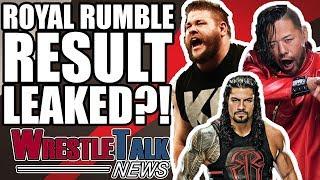 WWE Royal Rumble 2018 Result LEAKED?! | WrestleTalk News Jan. 2018