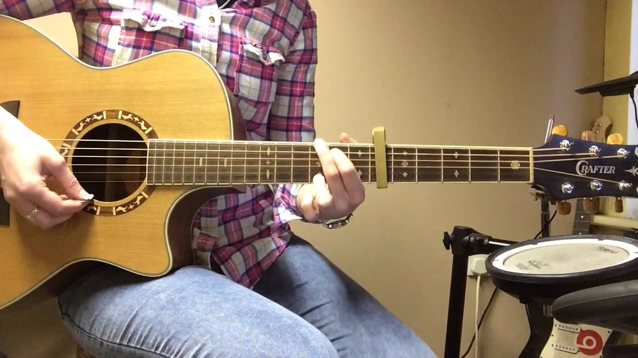 Whitney Houston I Wanna Dance With Somebody Guitar Cover Youtube
