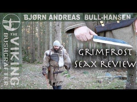 Grimfrost Seax - Viking Woodsman Knife - Review