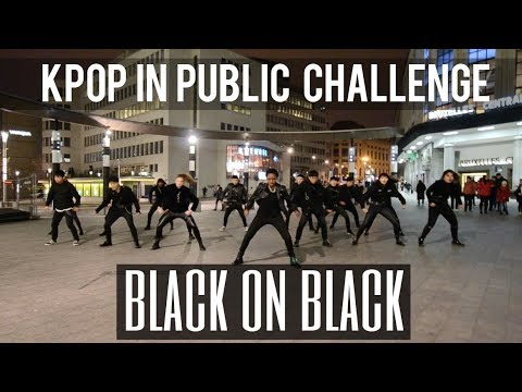 KPOP IN PUBLIC CHALLENGE NCT 2018 엔시티 2018 Black on Black Cover by Move Nation x THE AIM