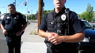 Klamath Falls Police, Open Carry a MP5 and a Handgun. thumbnail