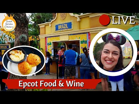 🔴 Epcot Food & Wine Festival: Brazil