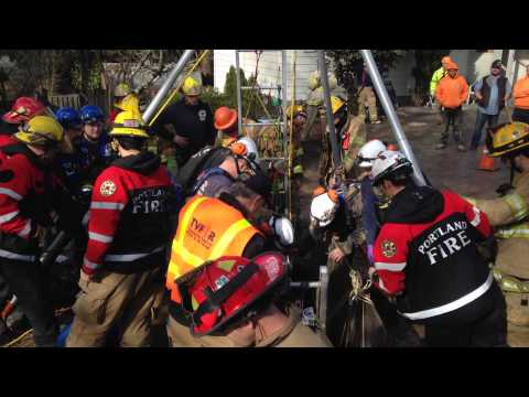 Trench Rescue - TVF&R - March 2014