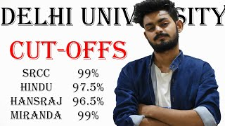 Cut offs - Delhi University Admissions | best colleges