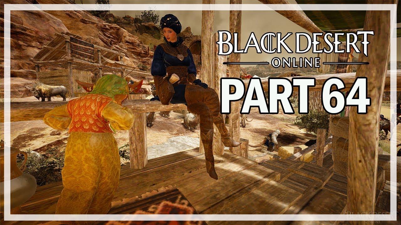 Black Desert Online Lets Play Part 64 Sand Grain Bazaar - Dark Knight  Gameplay
