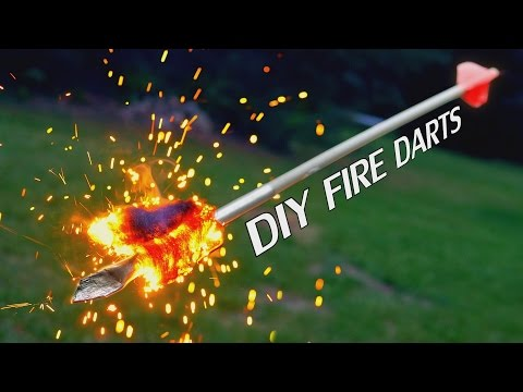 How to make a primitive spear thrower and fire darts from PVC