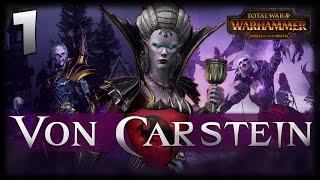 BEAUTY AND HORROR! Total War: Warhammer - Von Carstein Campaign #1