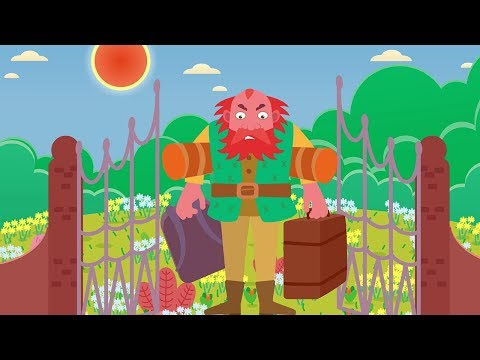 The Selfish Giant | Animated English Fairy Tales | Bedtime Stories
