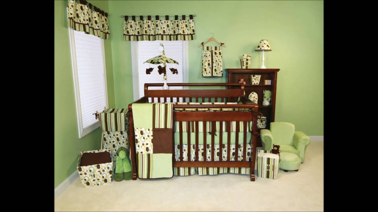 Neutral Colored Safari Themed Nursery Room Colorful Baby Decorations Ideas