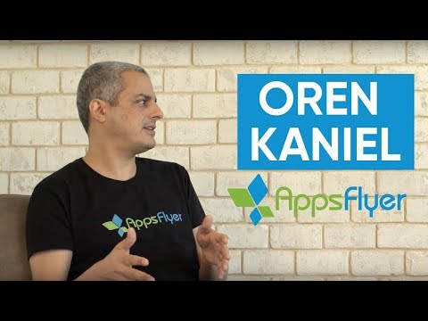 Interview with Oren Kaniel (CEO, Appsflyer) about investments, app ecosystem and corporate culture