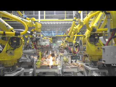 Car Factory – Kia Sportage factory production line
