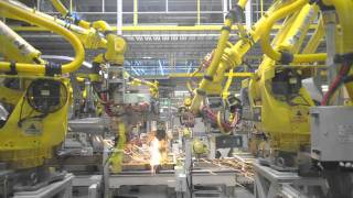 Car Factory - Kia Sportage factory production line