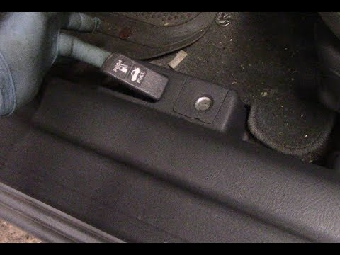 Honda Civic Fuel Door Or Trunk Release Problem Repaired