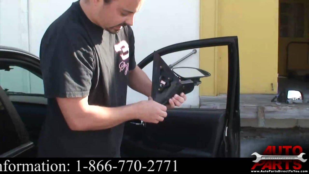 Hyundai Sonata Side View Mirror Glass Replacement Youtube
