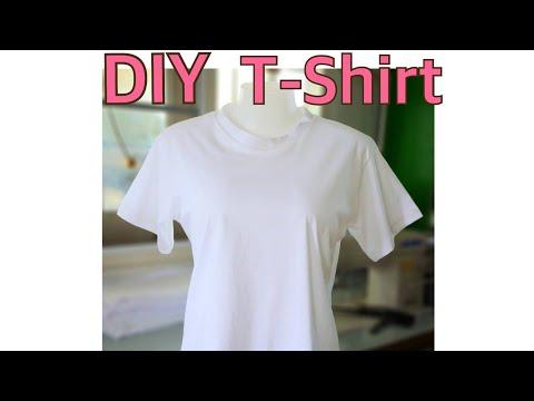 DIY สร้างแพทเทิร์นเสื้อยืดไซส์ M เองง่ายๆ