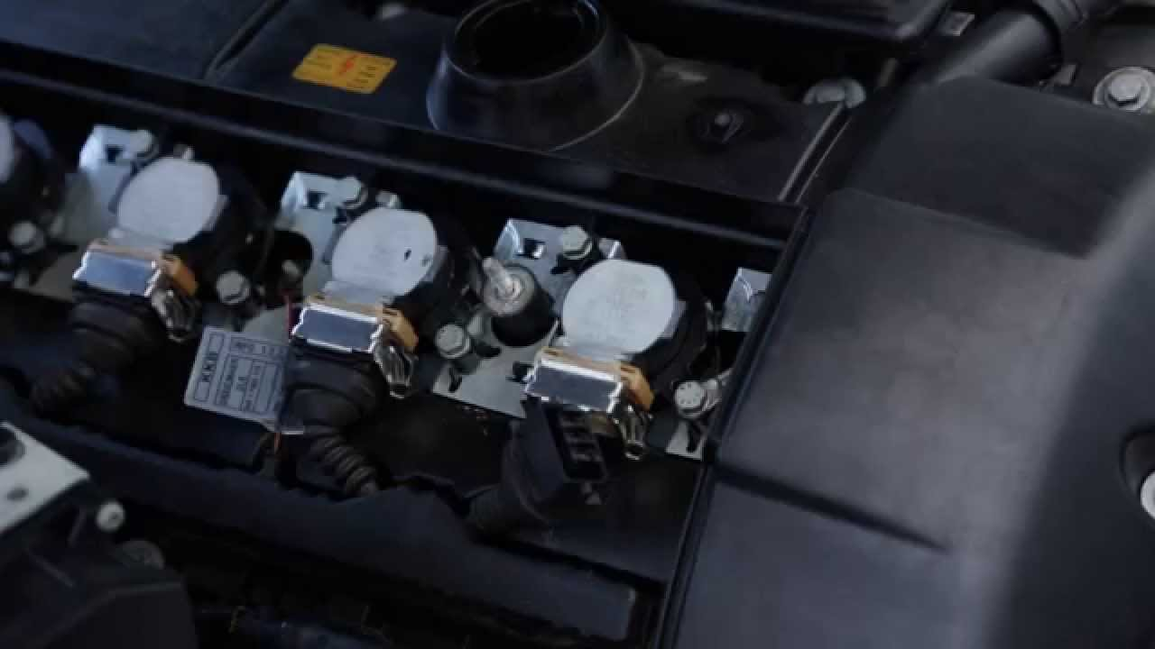 replacing bmw spark plugs and ignition coils m54 m52 m50 - youtube  youtube