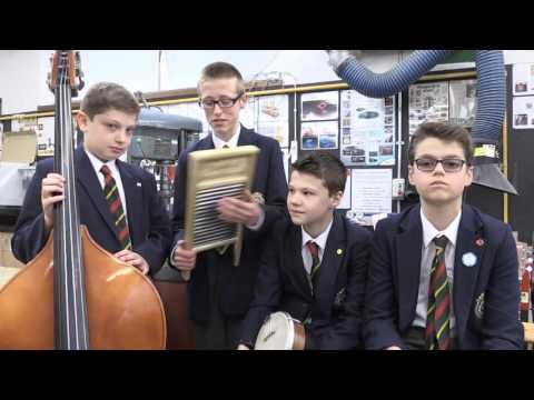 Big News - Queen Mary's Grammar School Skiffle Group