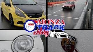AMAZING Opel Corsa OPC and tuned Fiat Ritmo on Monza Track!!!