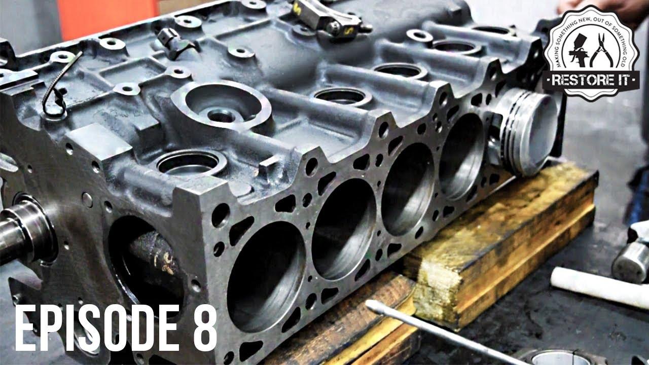 BMW E30 M20B25 Engine Rebuild Restoration - The Machine Shop | Part 8