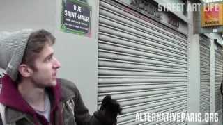 street art life paris part 1 obey shepard fairey mimi the clown fred le chevalier