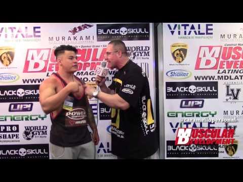 Entrevista Tiago Toguro no Arnold Classic Brasil 2015 - por Caramello Personal