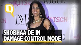 Tweet Row: Shobhaa De Eats Humble Pie, Hails 'Teen Deviyaan' Video courtesy: ANI Music courtesy: BigBangFuzz For more videos, subscribe to our channel: ...