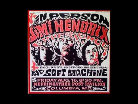 Jimi Hendrix : Columbia, Maryland, U S : August 16, 1968