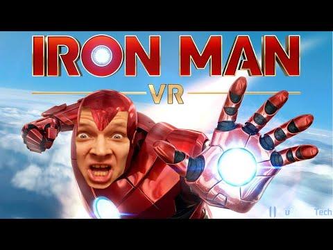 Я ЖЕЛЕЗНЫЙ ЧЕЛОВЕК! Лучшая Игра для VR I Играем за Тони Старка в IRON MAN PSVR